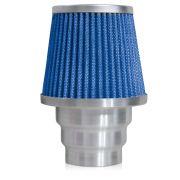 Filtro de Ar Esportivo Rs Air Filter Duplo Fluxo Multi 60mm Azul