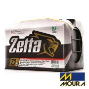 Bateria Automotiva Moura Zetta Z60D 60 Ah Direita Livre de Manutenção