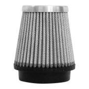 Filtro de Ar Esportivo Rs Air Filter Cônico 70mm Prata