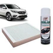 Filtro do Ar Condicionado Cabine Honda Accord Civic CRV 1995 a 2007 + Higienizador