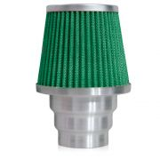 Filtro de Ar Esportivo Rs Air Filter Duplo Fluxo Multi 60mm Verde