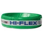 Fio Flexível para Instalação Automotiva Dni Hi-Flex 1,00 mm 100 Metros Verde