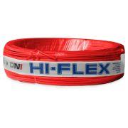Fio Flexível para Instalação Automotiva Dni Hi-Flex 1,00 mm 100 Metros Vermelho