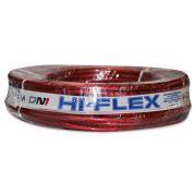 Fio Flexível para Sonorização Profissional de Alta Potência Dni Hi-Flex 21 mm 25 Metros Cristal Vermelho