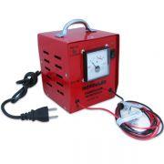 Carregador Automotivo de Bateria 12v 6 Amp com Amperimetro