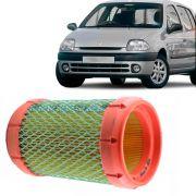 Filtro de Ar do Motor Renault Clio 1.0 1997 a 2003 Kangoo 1.0 2000 a 2005 Twingo 1.2 1994 a 2005 8V Gasolina