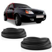 Kit Borracha da Porta Ford Fiesta Courier 2 Portas