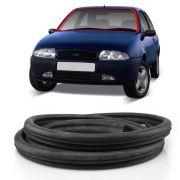 Borracha do Parabrisa Vidro Dianteiro Ford Fiesta Courier Sw 1996 a 2002 Aba Larga