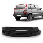Borracha do Vidro Traseiro Vigia Fiat Uno 1991 em diante com Esponja