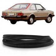 Borracha do Vidro Traseiro Vigia Ford Corcel 2 1978 a 1985 com encaixe para friso