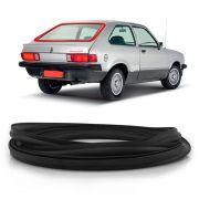Borracha do Vidro Traseiro Vigia Gm Chevette Hatch Luxo