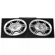 Caixa De Som Acústica Estéreo Quadriaxial 6x9 Pol 150W Rms 4 Vias