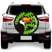 Capa para Estepe Tucano Negro Fox Ecosport Doblo