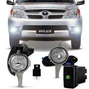 Kit Farol de Milha Toyota Hilux SRV SR 2005 a 2008