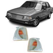 Lanterna Dianteira Pisca Ford Corcel Belina II Del Rey Scala Pampa 1985 em Diante Cristal Lado Esquerdo
