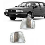 Lanterna Dianteira Pisca Volkswagen Santana 1991 a 1995 Cristal Lado Direito