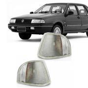 Lanterna Dianteira Pisca Volkswagen Santana 1996 a 1998 Cristal Lado Esquerdo