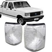 Lanterna Dianteira Pisca Ford F1000 F4000 1992 a 1997 Cristal Lado Direita