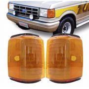 Lanterna Dianteira Pisca Ford F1000 F4000 1992 a 1997 Ambar Lado Direita