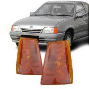 Lanterna Dianteira Pisca Chevrolet Kadett Ipanema 1989 em Diante Ambar Lado Direito