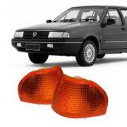 Lanterna Dianteira Pisca Volkswagen Santana 1991 a 1995 Ambar Lado Esquerdo