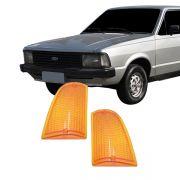 Lanterna Dianteira Pisca Ford Corcel II Belina II Del Rey Scala Pampa 1985 em Diante Ambar Lado Direito
