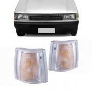 Lanterna Dianteira Pisca Fiat Uno Premio Fiorino 1991 em Diante Cristal Lado Direito