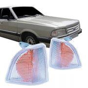 Lanterna Dianteira Pisca Ford Del Rey 1985 a 1991 Cristal Lado Direito
