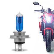Lâmpada Farol Moto H4 12V 35W 8500K