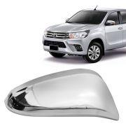 Aplique Cromado para Retrovisor Toyota Hilux SW4 Rav4 2016 em diante Lado Direito