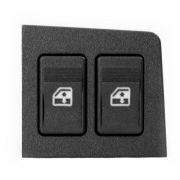 Botão Interruptor Duplo Do Vidro Elétrico Dianteiro Esquerdo Fiat Uno Fiorino 2002 em diante