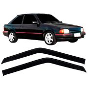 Calha de Chuva Acrílica Ford Escort Hobby 1984 a 1996 2 Portas