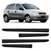 Kit Friso Lateral Corsa Hatch Sedan 2003 a 2011 4 Portas