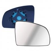 Lente com Base do Espelho Retrovisor Direito Meriva Prisma 2003 em diante Celta Novo 2007 em diante