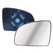 Lente com Base do Espelho Retrovisor Esquerdo Meriva Prisma 2003 em diante Celta Novo 2007 em diante