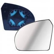Lente com Base do Espelho Retrovisor Esquerdo Ford Ka 2008 a 2014 Fiesta 2003 em diante