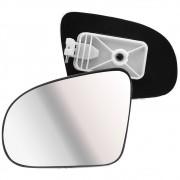 Lente com Base do Espelho Retrovisor Esquerdo Corsa 1995 a 2003