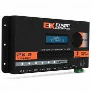 Crossover Expert PX2 Connect 6 Canais Processador de Áudio Digital Equalizador Bluetooth