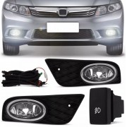 Kit Farol de Milha Honda New Civic 2012 a 2014