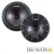 """Subwoofer Bravox Premium Plus 12"""" P12X-D4 - 220 WRMS 4 + 4  OHMS"""
