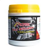 Silicone Gel Revitalizador para Paines Parachoques e Pneus Pote 750g