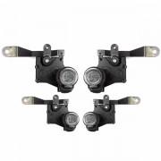 Trava Elétrica Específico p/ Fechadura Toyota Etios - 4 portas - KIT