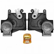Trava Elétrica Específico p/ Fechadura Chevrolet, Fiat, Ford, Citroen - 2 portas - KIT