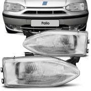 Farol Principal Arteb Fiat Palio Weekend Siena Strada 1999 a 2000 Lado Esquerdo