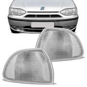 Lanterna Dianteira Pisca Fiat Palio Siena 1996 a 2000 Cristal Lado Esquerdo 96109