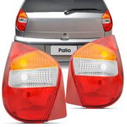 Lanterna Traseira Fiat Palio 2001 a 2003 Fire Tricolor Lado Esquerdo 35174