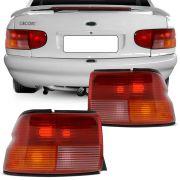 Lanterna Traseira Ford Escort Zetec 1997 a 2003 Tricolor Lado Direito