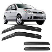 Calha de Chuva Acrílica Adesiva Ford Fiesta Hatch 96/01 – 4 portas