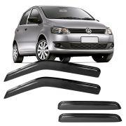 Calha de Chuva Acrílica Adesiva Volkswagen Fox 4 Portas