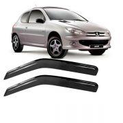 Calha de Chuva Acrílica Adesiva Volkswagen Fox – 2 portas